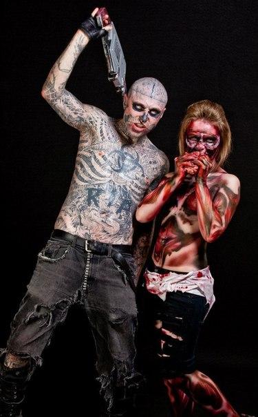 Зомби бой и его схема